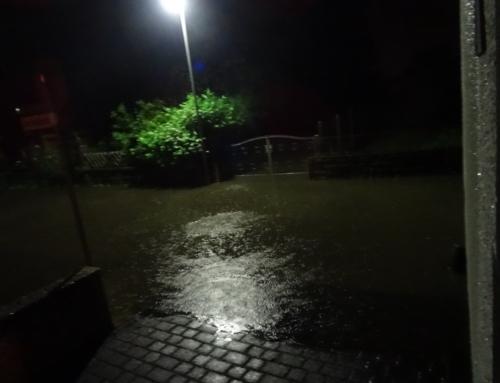 Der Starkregen vom 1. Juni