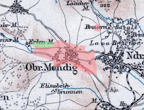Baugebiete – Entwicklung in Obermendig