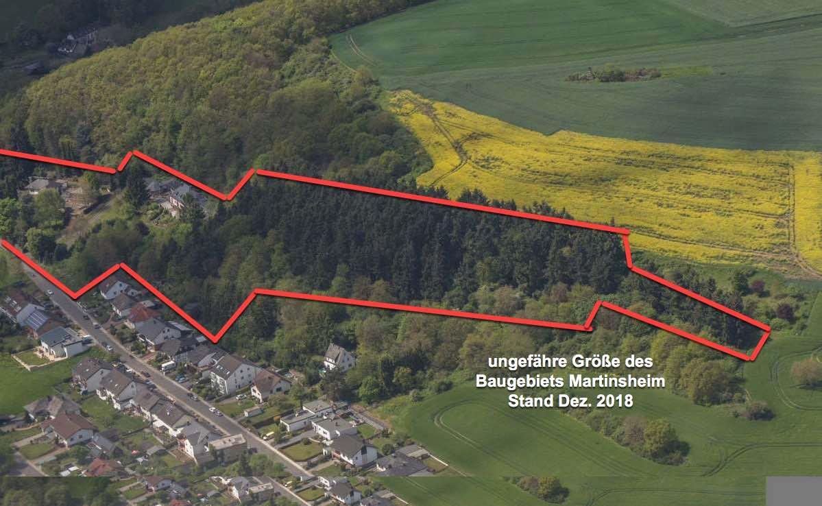 Baugebiet Martinsheim Martinswald