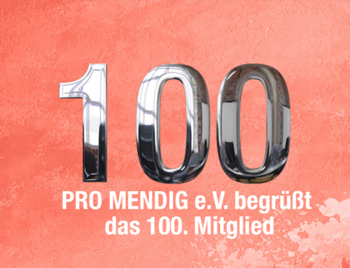 Pro Mendig e.V.  hat nun 100 Mitglieder