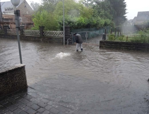 9. August 2019 – Starkregen in Mendig eine Übersicht
