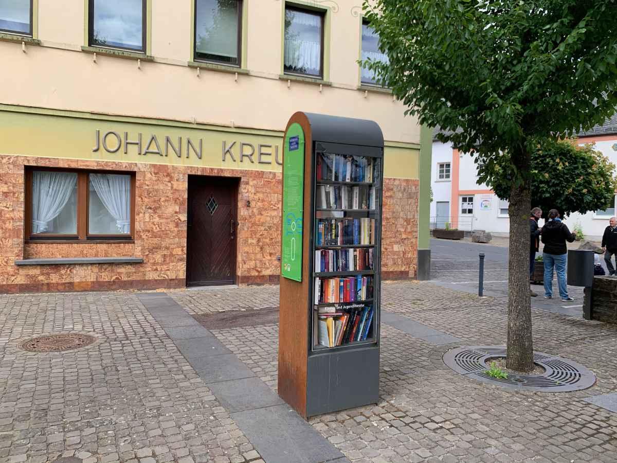 öffentlicher Bücherschrank in Kaisersesch