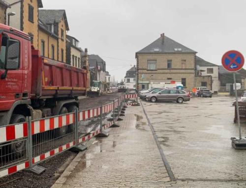 Strassensperren in Mendig – Es wird viel in unsere Straßen investiert.
