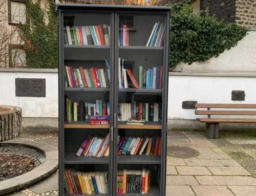 4 Monate öffentlicher Bücherschrank