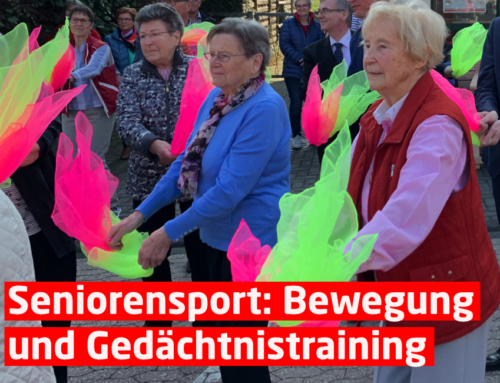 Seniorensport: Bewegung und Gedächtnistraining Wir starten wieder!