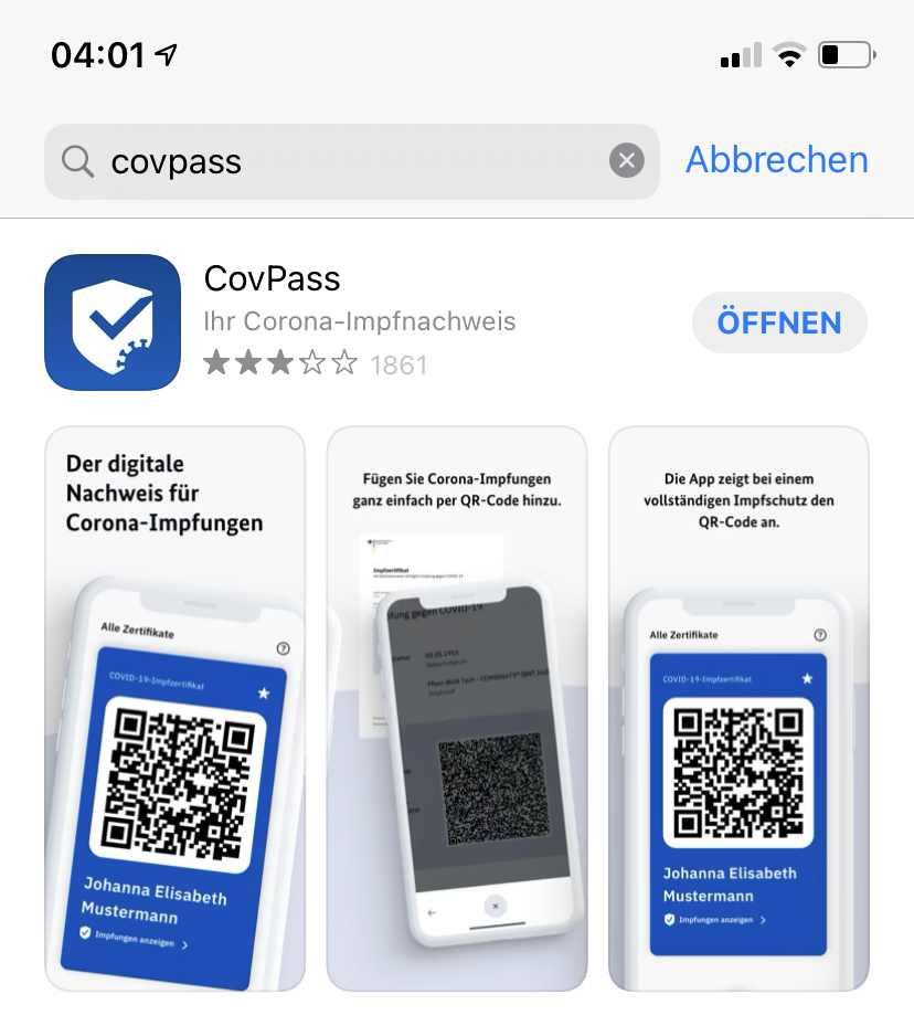 Die Impfpass-App
